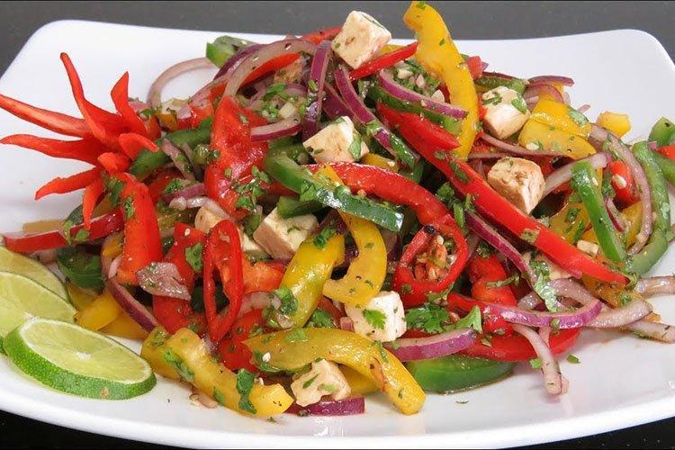 Новогодний закусочный салат - рецепты