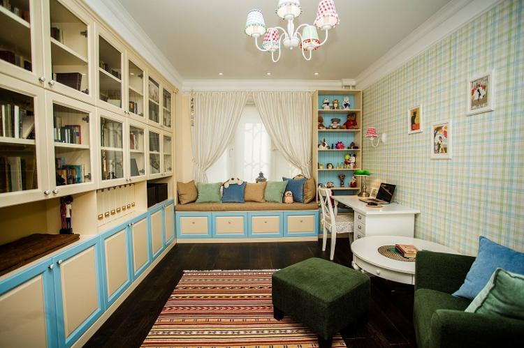 Текстильные обои - Виды обоев для детской комнаты
