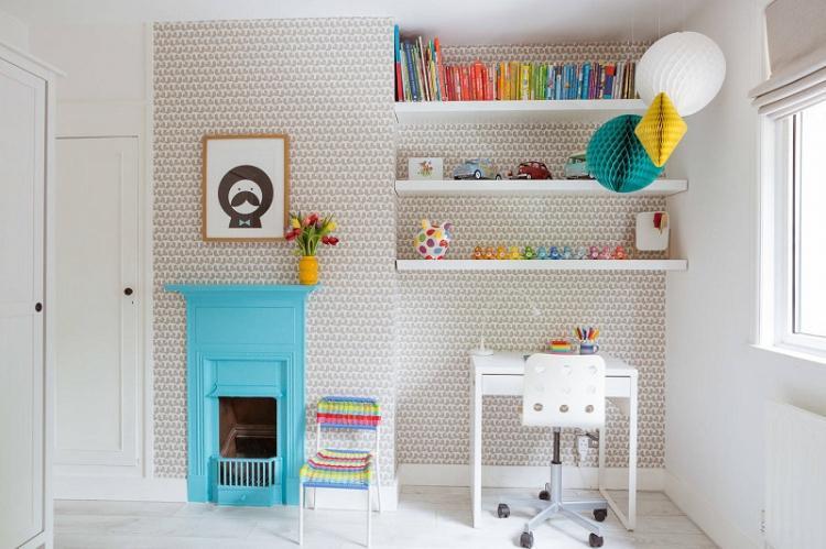 Обои для детской комнаты в скандинавском стиле