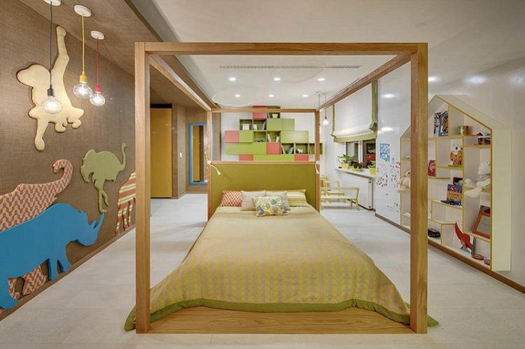 Обои для детской комнаты в современном стиле