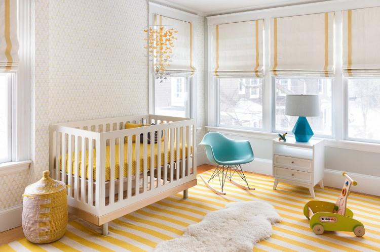 Белый - Цвет обоев для детской комнаты