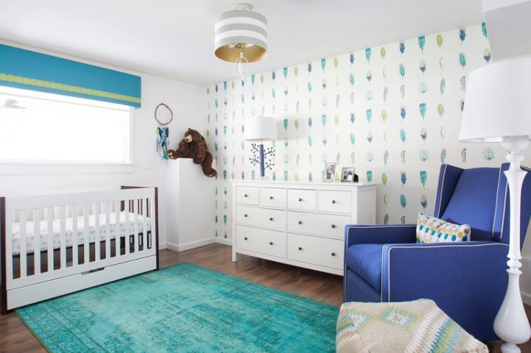 Как выбрать обои для маленькой детской комнаты