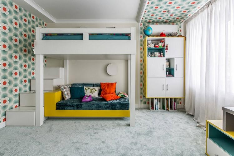 Обои для детской комнаты - фото и идеи