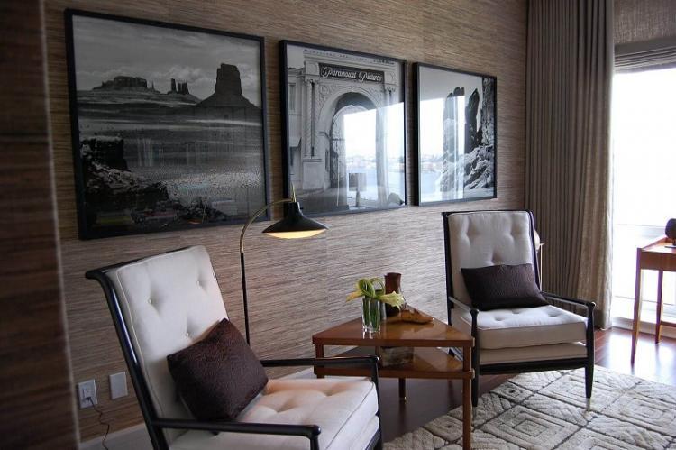 Обои для гостиной - фото и идеи