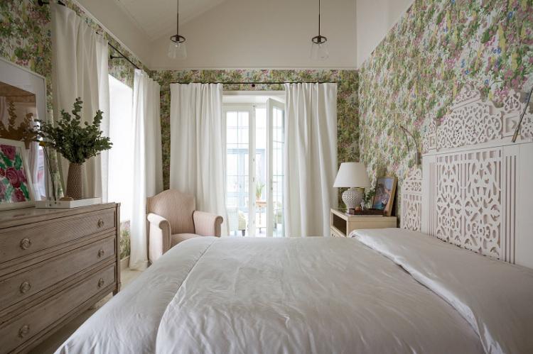 Текстильные обои - Виды обоев для спальни