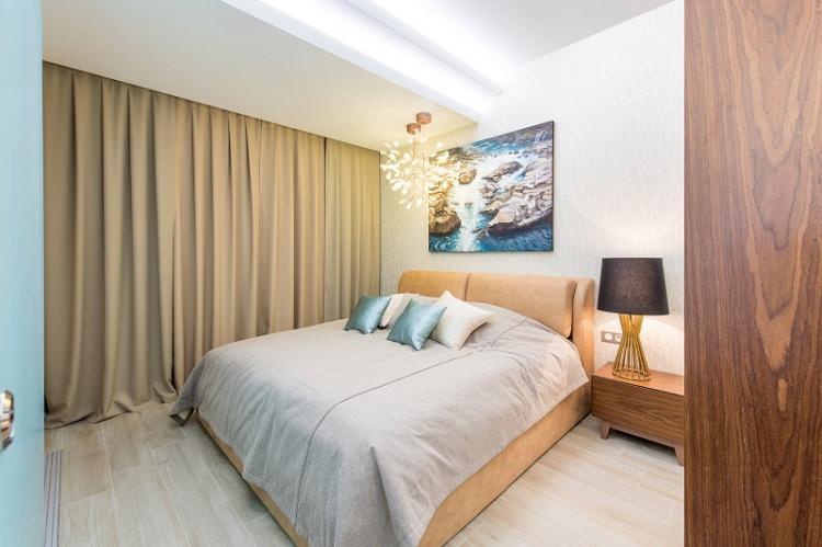 Белый - Цвет обоев для спальни
