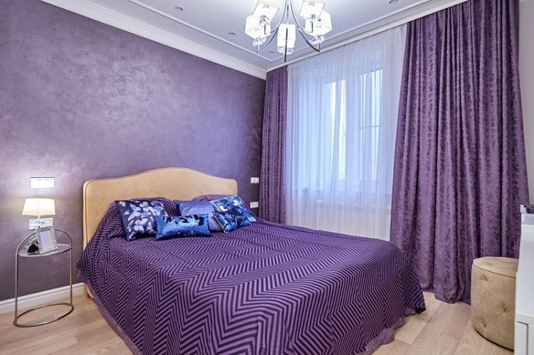 Рисунок и дизайн обоев для спальни