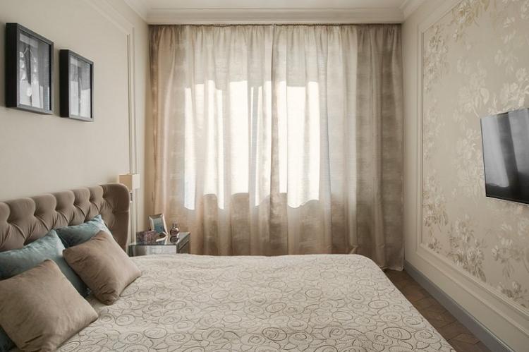 Как выбрать обои для маленькой спальни
