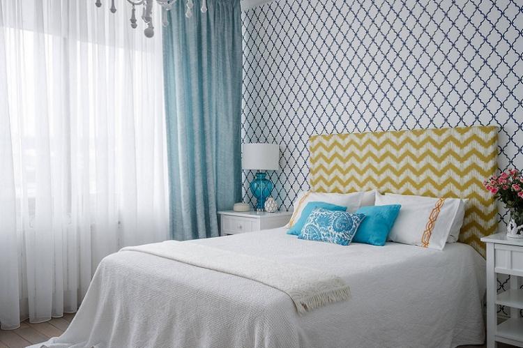 Обои для спальни - фото и идеи