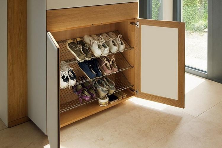 Закрытые шкафы - Виды обувниц в прихожую