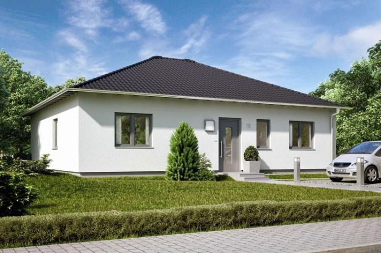 Одноэтажные дома: красивые проекты (100+ фото)