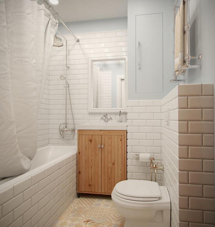 Однокомнатная квартира 36 кв.м. - дизайн интерьера