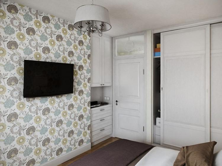 Однокомнатная квартира 40 м2 - дизайн интерьера