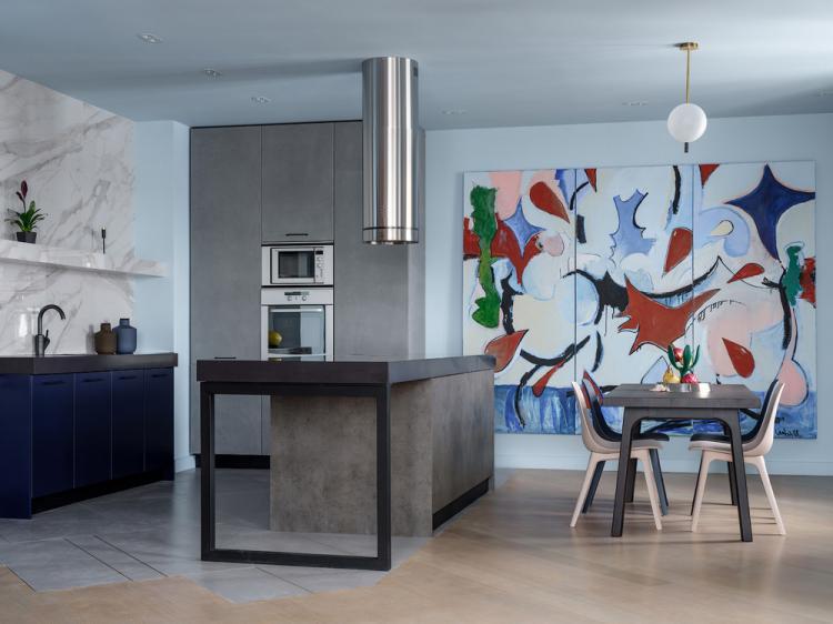 «Оттенки рассвета»: Интерьер квартиры