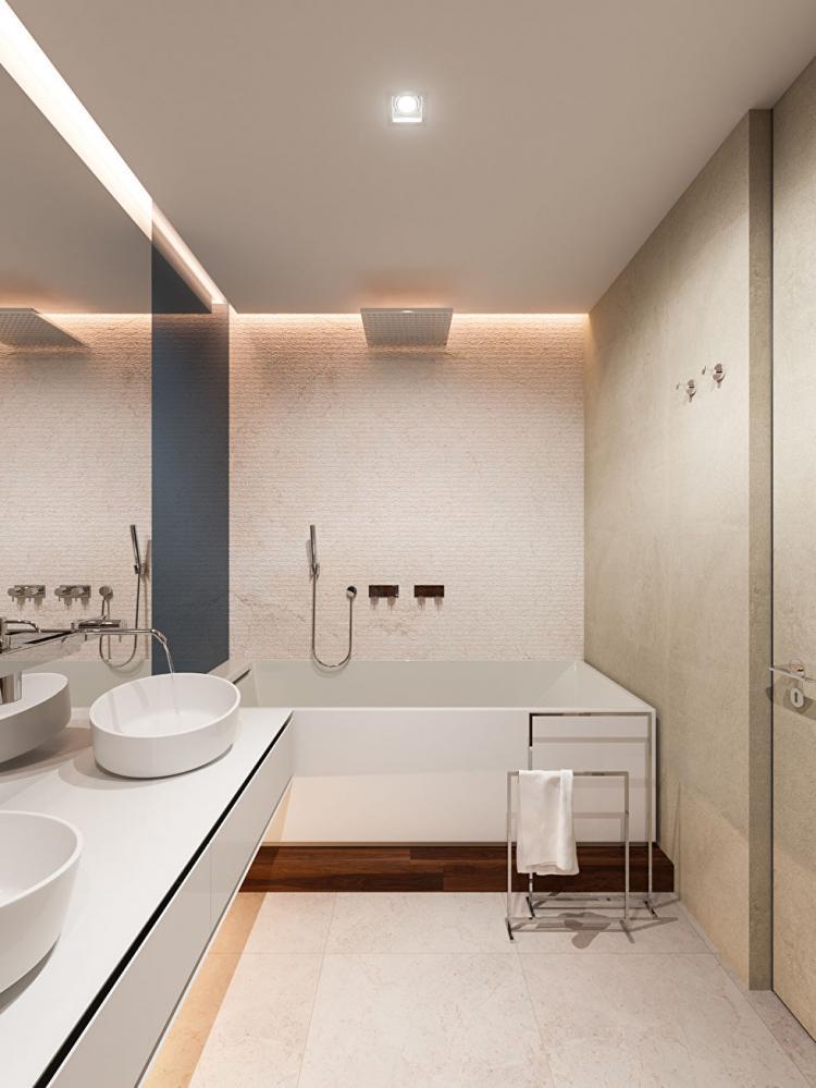 Пентхаус в ЖК «Садовые Кварталы» - дизайн интерьера