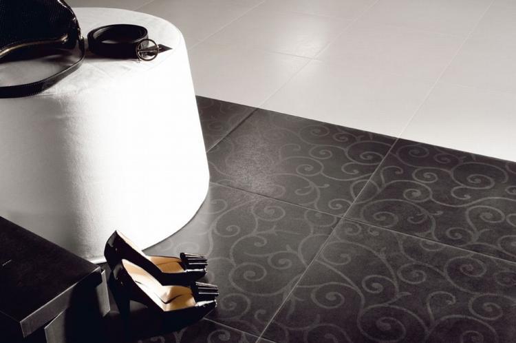 Узоры - Дизайн плитки для пола в прихожей
