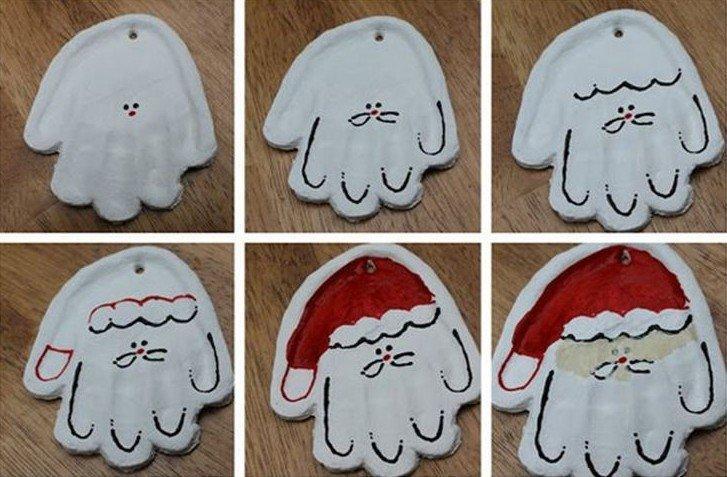 Гипсовый Дед Мороз - Подарок маме на Новый год своими руками