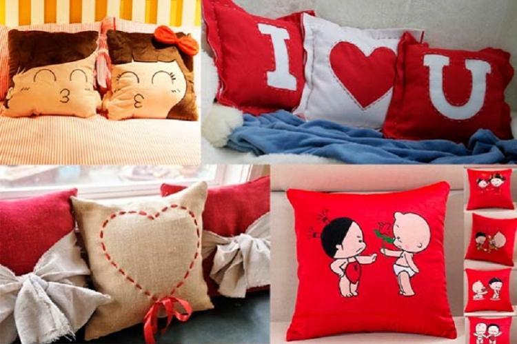 Декоративная подушка - Идеи подарков на день рождения своими руками
