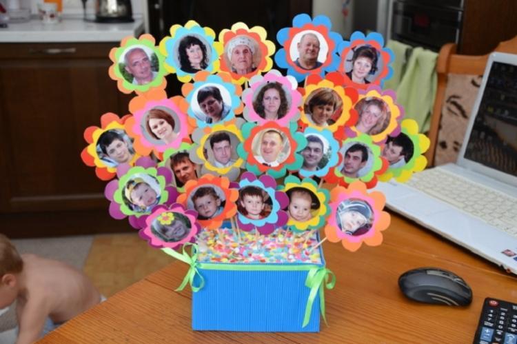 Генеалогическое древо - Идеи подарков на день рождения своими руками