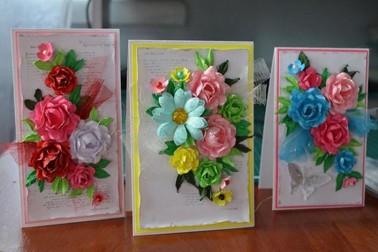 Открытка маме - Идеи подарков на день рождения своими руками