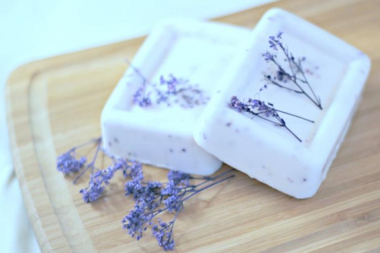 Набор ароматного мыла - Идеи подарков на день рождения своими руками