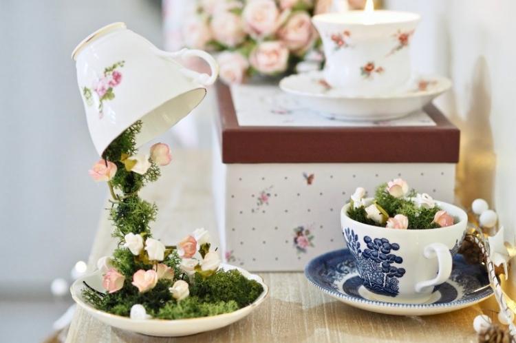 Парящая чашка - Идеи подарков на день рождения своими руками
