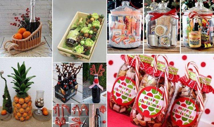 Вкусные подарки на Новый год 2021 своими руками