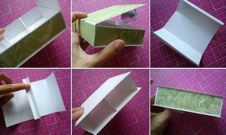 Шкатулка - Поделки из картона своими руками