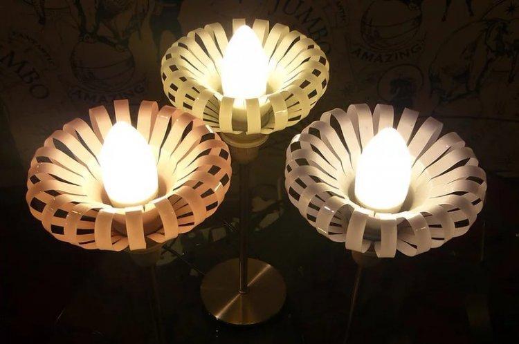 Светильники и абажуры - Поделки из пластиковых бутылок своими руками