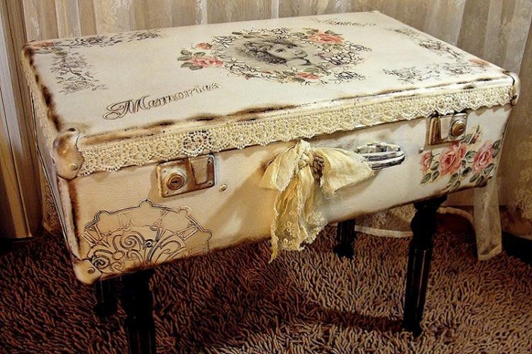 Поделки из старого чемодана - Поделки из старых вещей своими руками