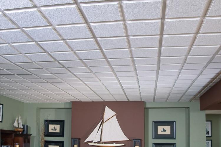 Плитка - Виды подвесных потолков