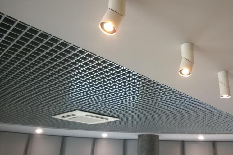 Грильято - Виды подвесных потолков
