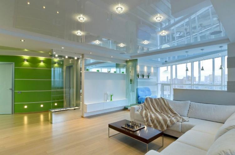 Натяжные потолки - Виды подвесных потолков