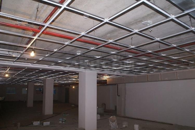 Недостатки - Подвесные потолки
