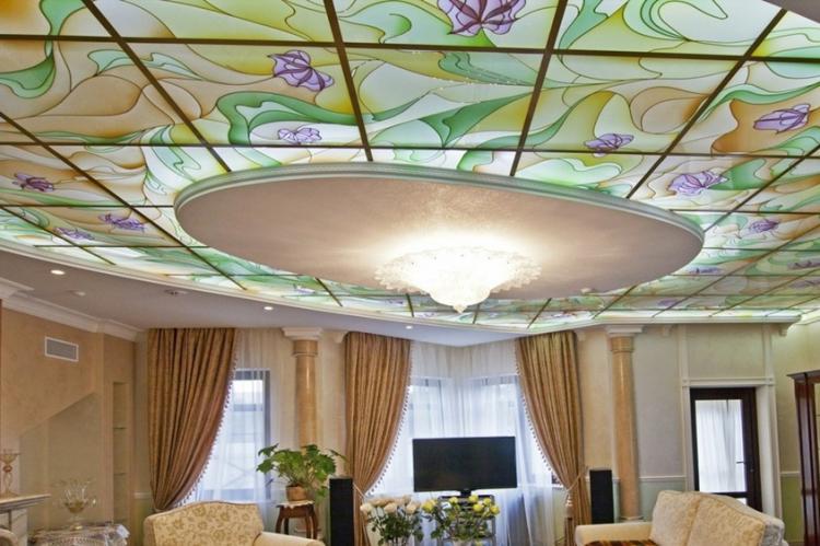 Классическое освещение - Освещение и подсветка подвесного потолка