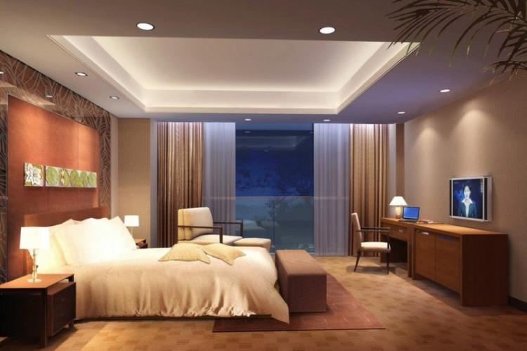 Точечные светильники - Освещение и подсветка подвесного потолка