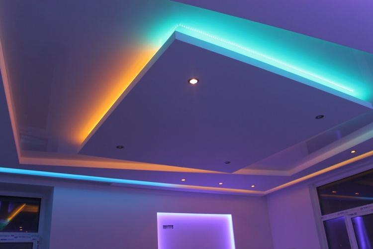 Декоративная подсветка - Освещение и подсветка подвесного потолка