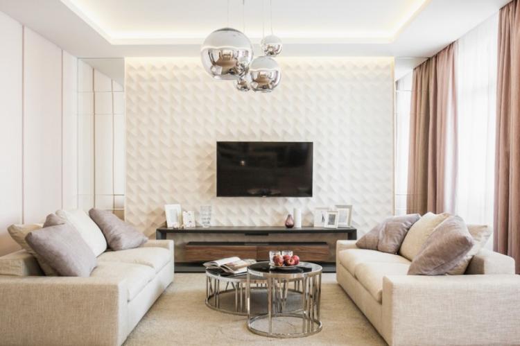Потолки из гипсокартона в интерьере (150+ фото)