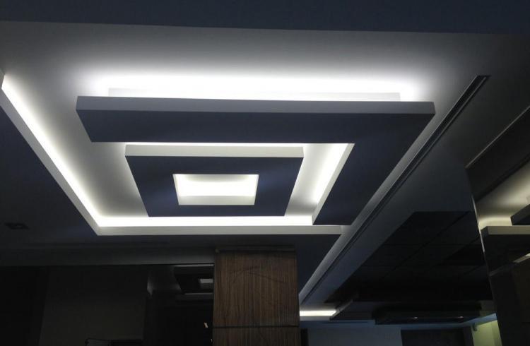 Светодиодные ленты - Освещение и подсветка потолка из гипсокартона
