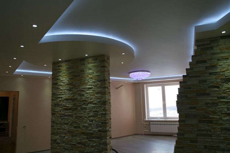 Скрытая подсветка - Освещение и подсветка потолка из гипсокартона