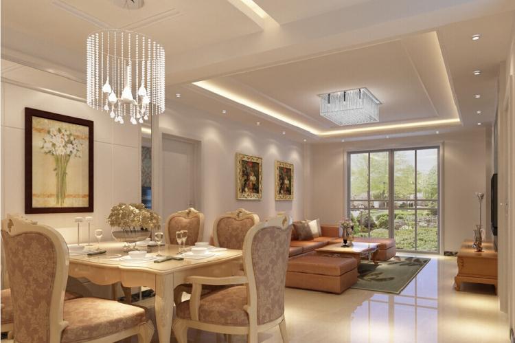 Многоуровневые потолки из гипсокартона на кухне
