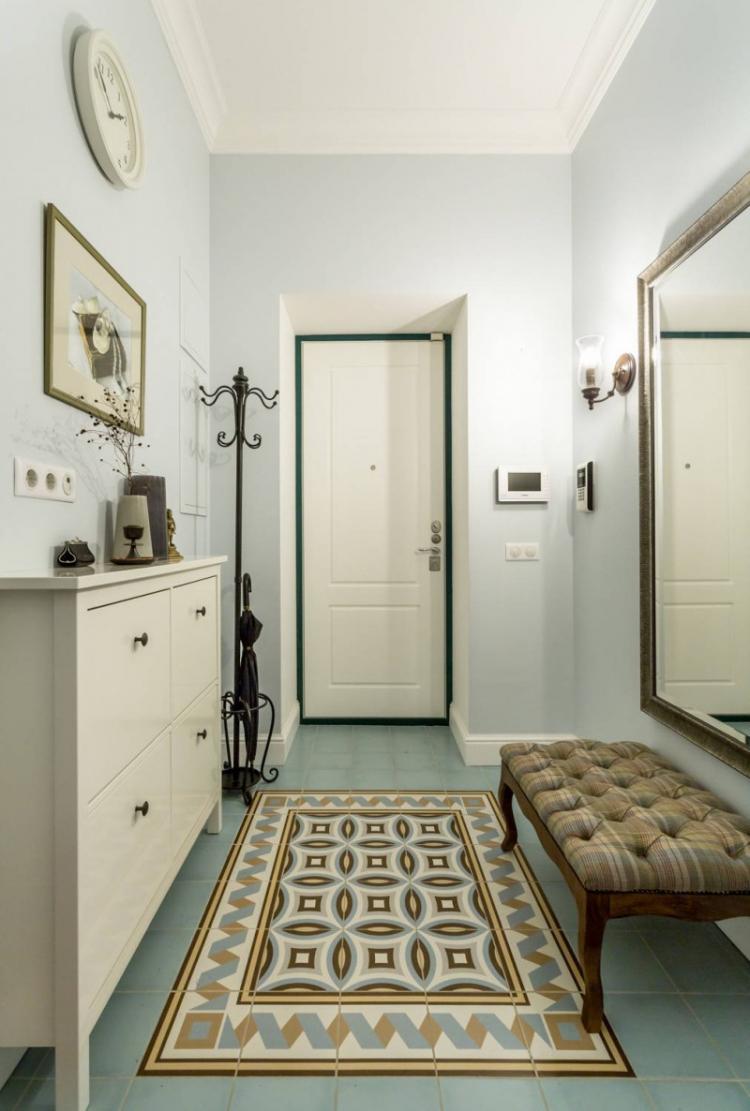 Банкетка и пуфик - Мебель для прихожей в классическом стиле