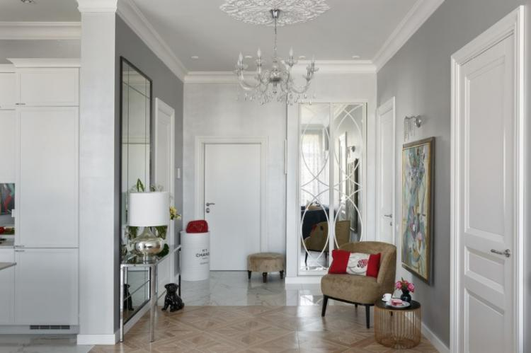 Декор и аксессуары - Дизайн прихожей в классическом стиле