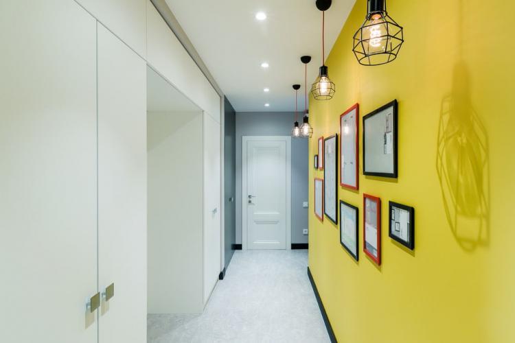 Подвесные светильники - Освещение прихожей в современном стиле