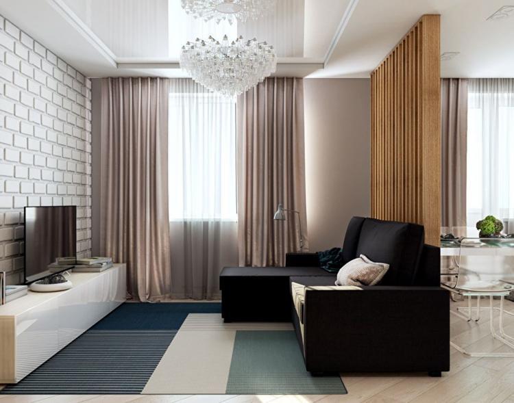 Проект квартиры 40 кв.м., Чебоксары