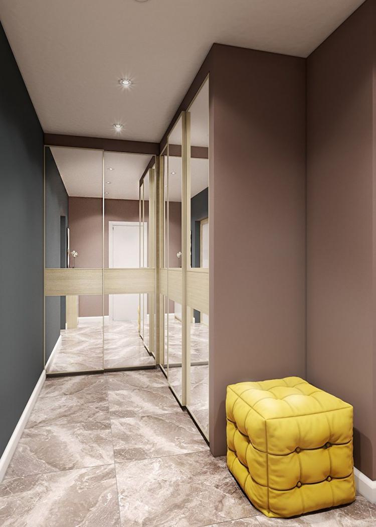 Проект квартиры в г. Чебоксары, 40 кв.м.