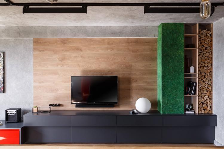 Проект квартиры For One, 48 м2 - дизайн интерьера