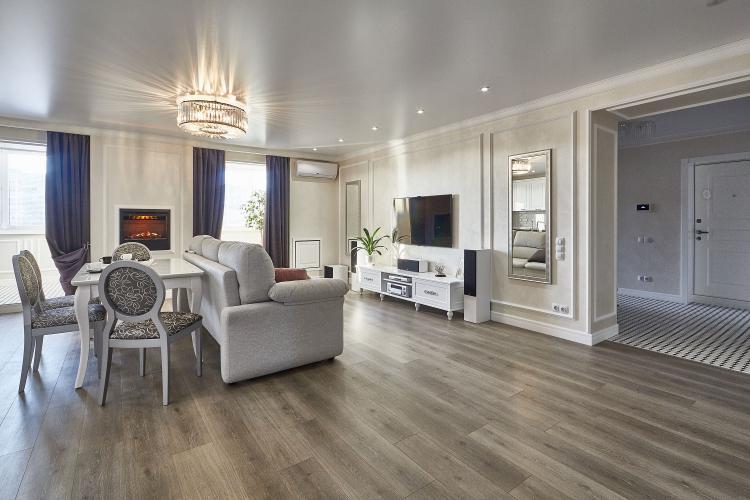 Проект квартиры La Perle - дизайн интерьера