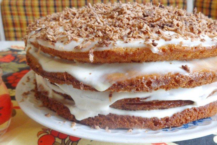 Торт «Воздушное чудо» в домашних условиях - рецепты