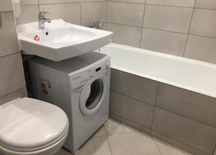 Недостатки и сложности - Раковина над стиральной машиной